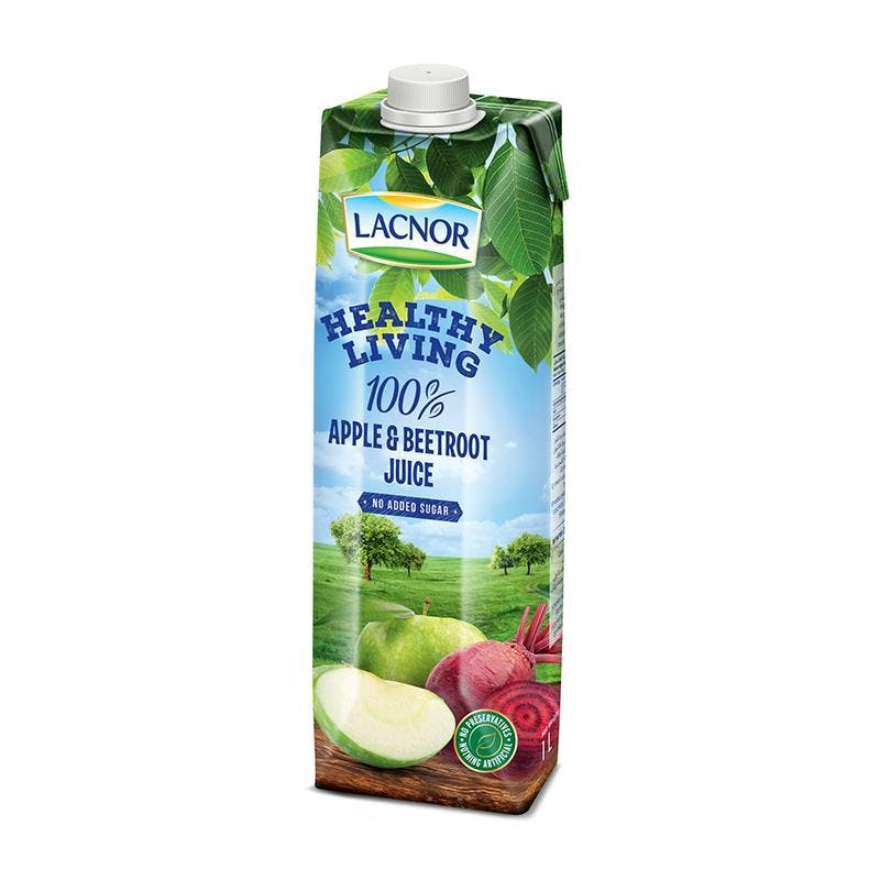 Lacnor Healthy Living Apple Beetroot -1L x 1