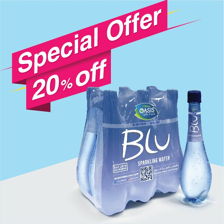 Blu Sparkling 1L - Pack of 6