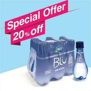 Blu Sparkling 250 ml - Pack of 6