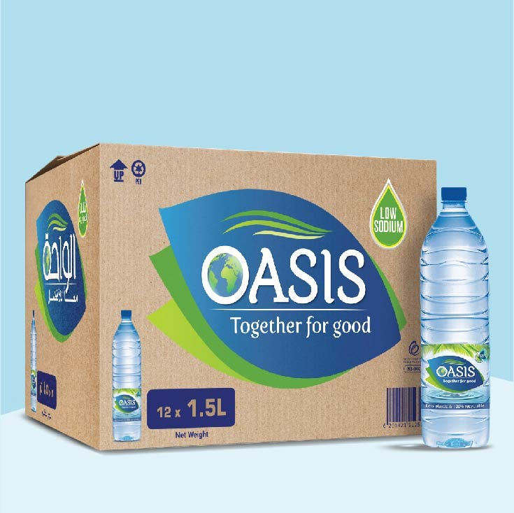 Oasis 1.5L - Carton of 12
