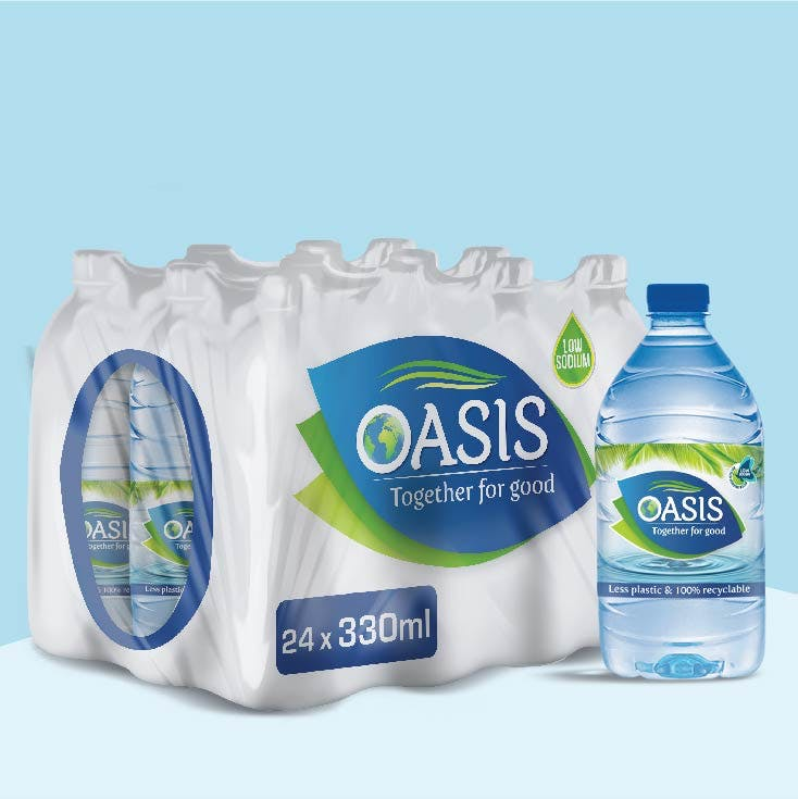 Oasis 330ml - Pack of 24 Bottles