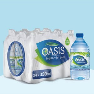 Oasis 330ml - Pack of 24 Bottles