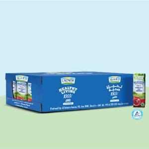 Lacnor Healthy Living Pomegranate 250 ml - Carton of 24