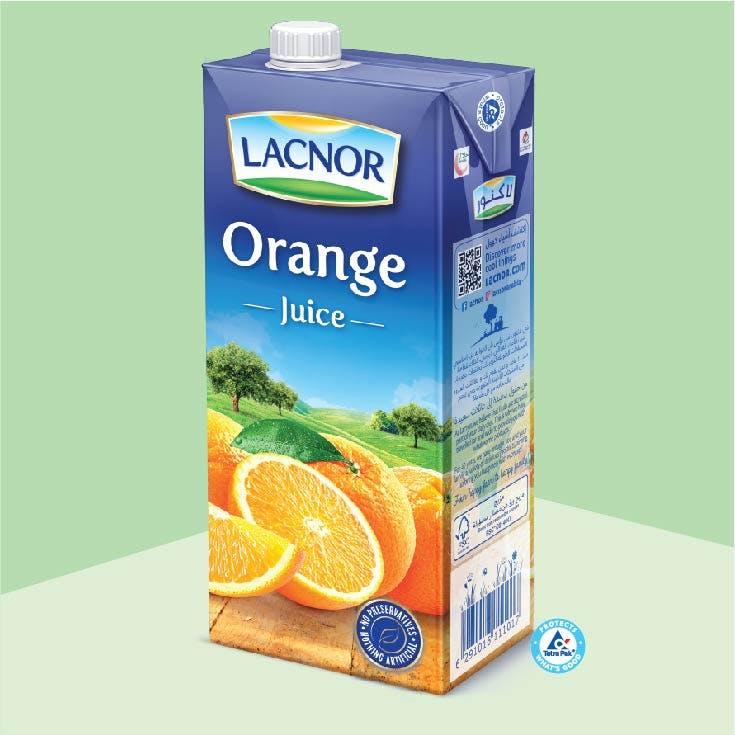 Lacnor Long Life Orange -1L x 1