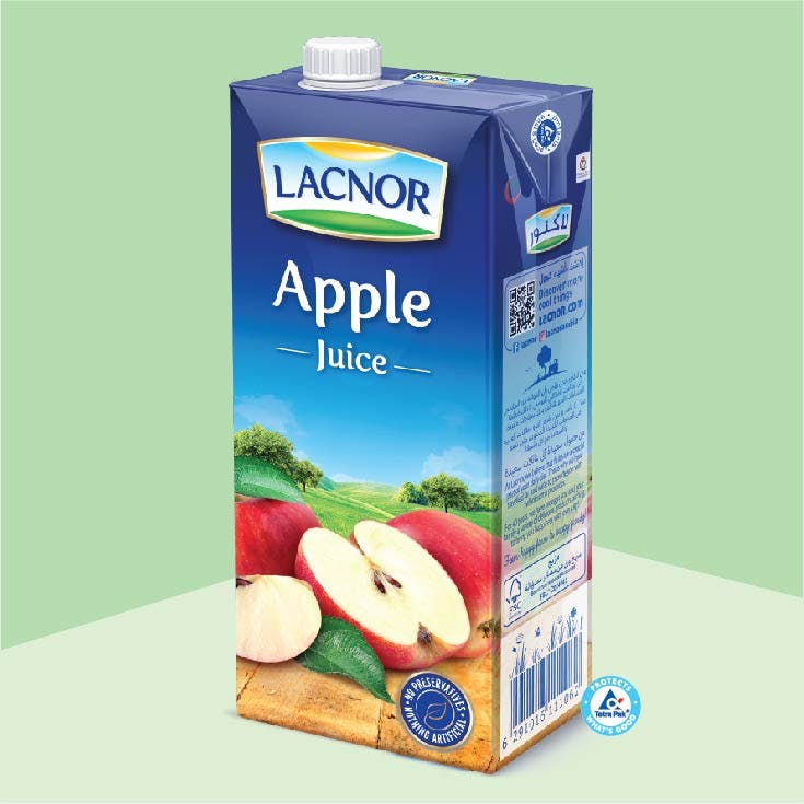 Lacnor Long Life Apple - 1L x 1