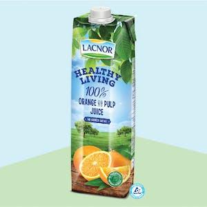 Lacnor Healthy Living Orange 1Lx1