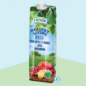 Lacnor Healthy Living Cranberry-Apple- Ginger 1Lx1