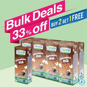 Bulk Offer Milk Chocolate 180ml Pack of 8  (Buy 2 Packs + Get 1 Pack Free)