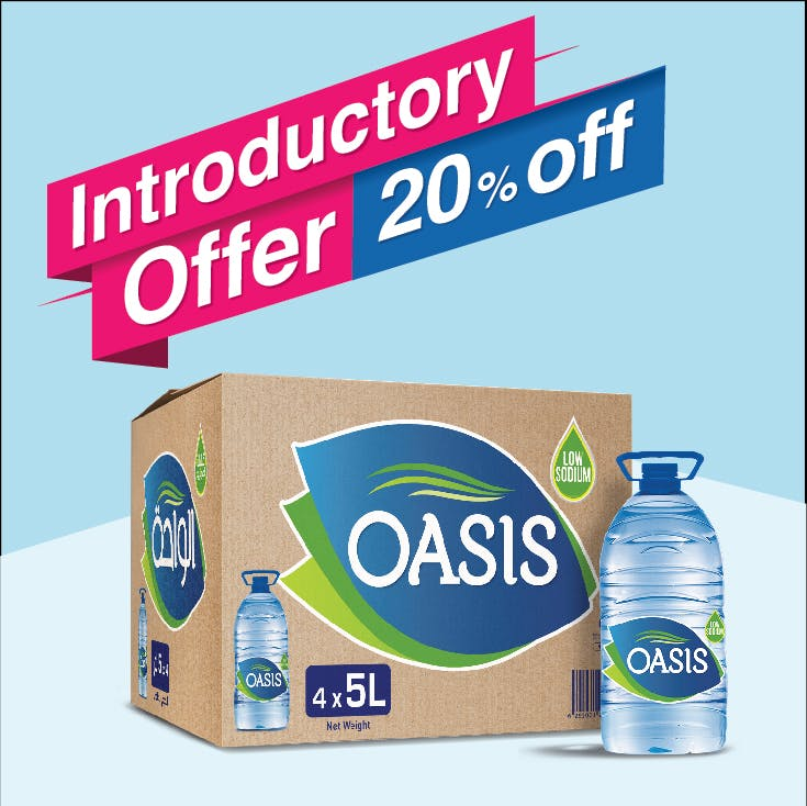 Oasis 5L - Carton of 4
