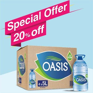 Oasis 5L - Carton of 4