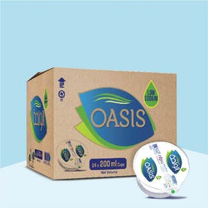 Oasis 200 ml Cups - Carton of 24 Cups