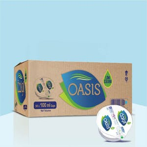 Oasis 100 ml Cups - Carton of 54 Cups
