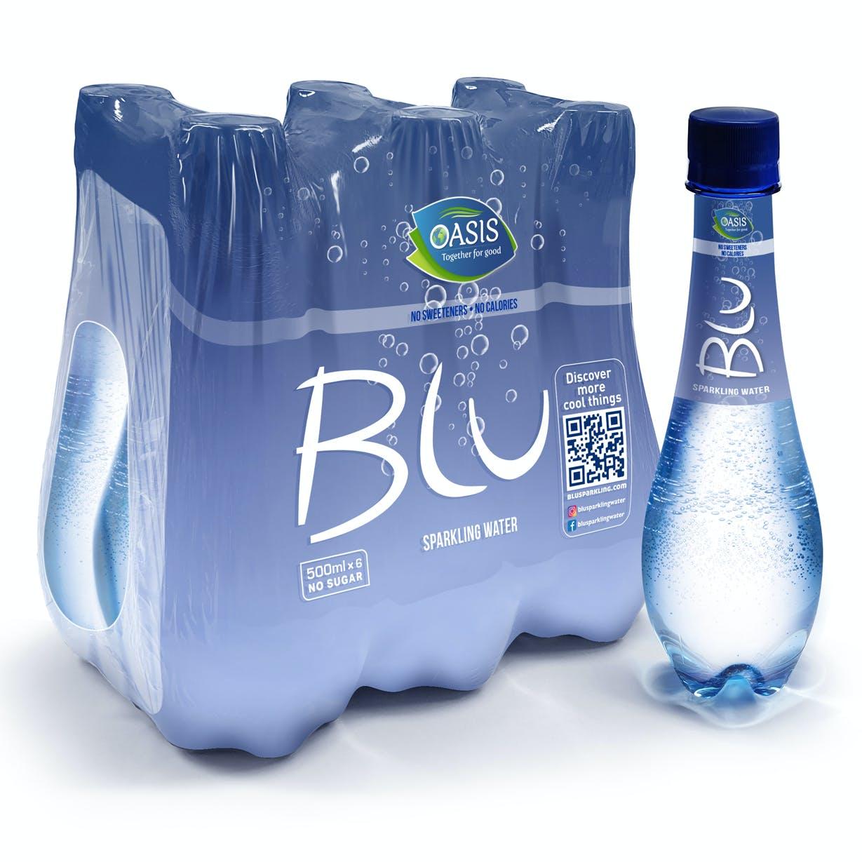 Blu Sparkling 500ml - Pack of 6