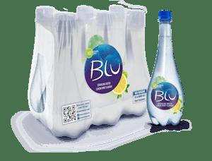 Blu Sparkling Lemon & Mint 500 ml - Pack of 6