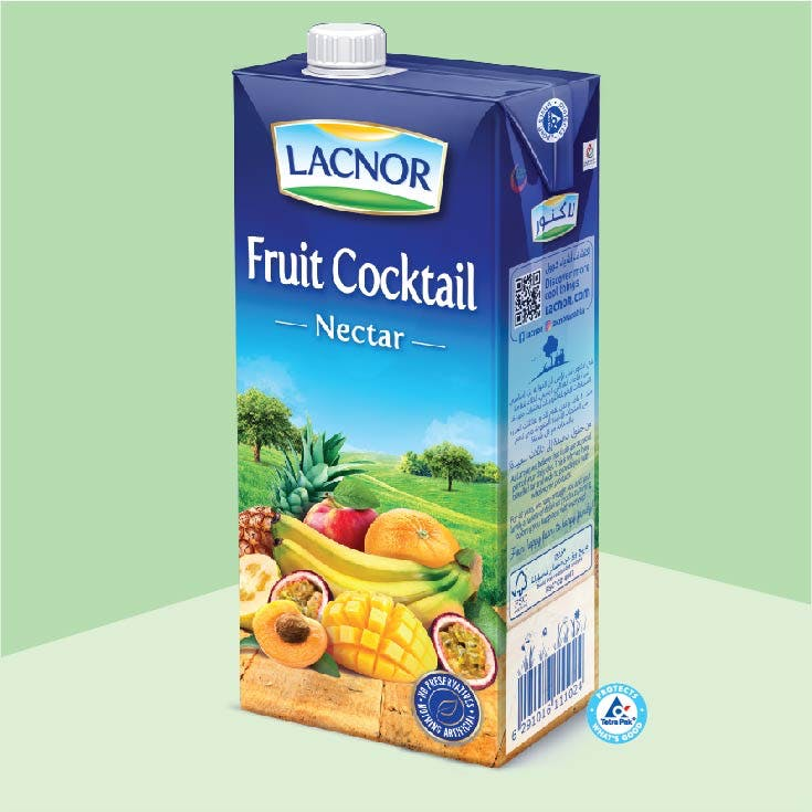 Lacnor Long Life Fruit Cocktail- 1L x 1