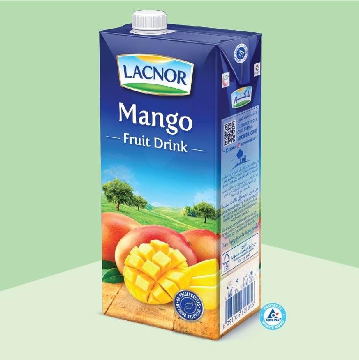 Lacnor Long Life Mango - 1L x 1